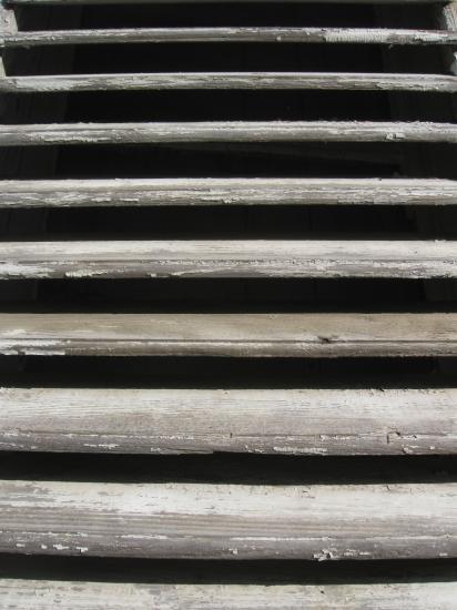 persiennes bois gris