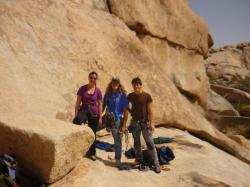 Climbing team - Joshua Tree NP