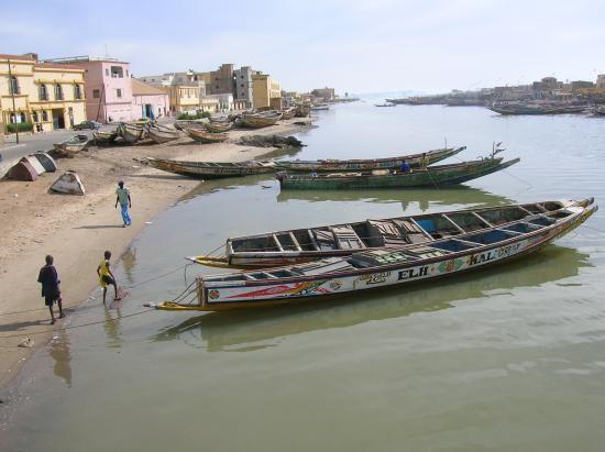 franges de l'île - Saint-Louis du Sénégal