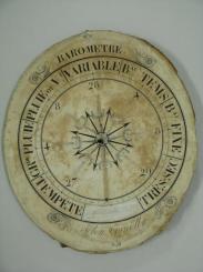 Cadran de baromètre