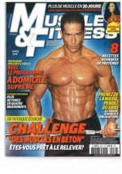 couverture Muscle&Fitness 04/11