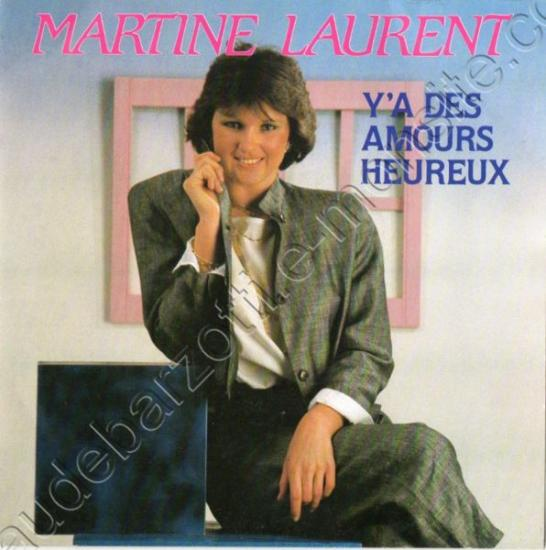 45 Tours Martine Laurent