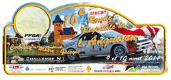 Plaque de la 16ème Ronde Régionale de l'Anguison