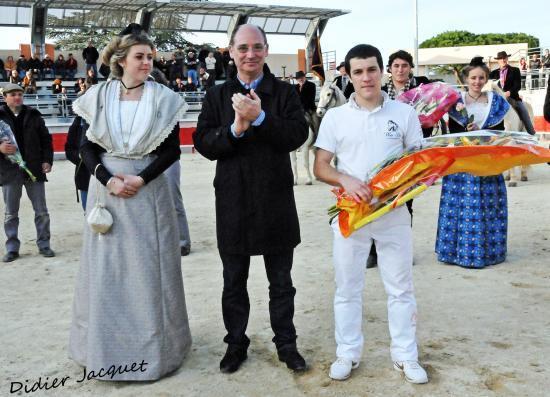 Le prix du meilleur raseteur à Jérôme Martin