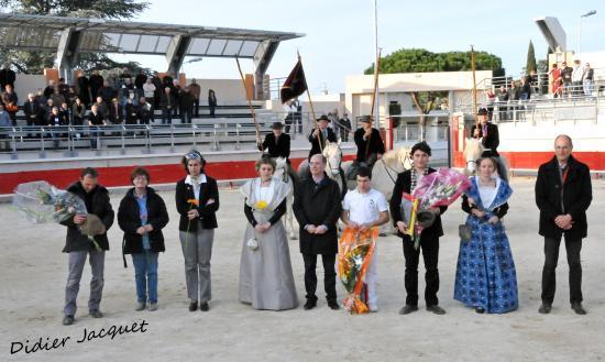 Les lauréats lors de la Coupe Santo