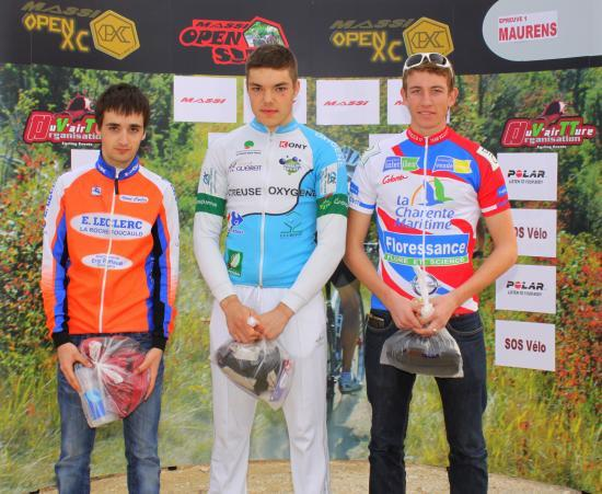 Podium Juniors Hommes