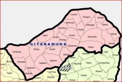 Commune de Gitaramuka et ses zones