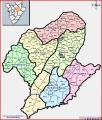 La province de Karuzi et ses communes