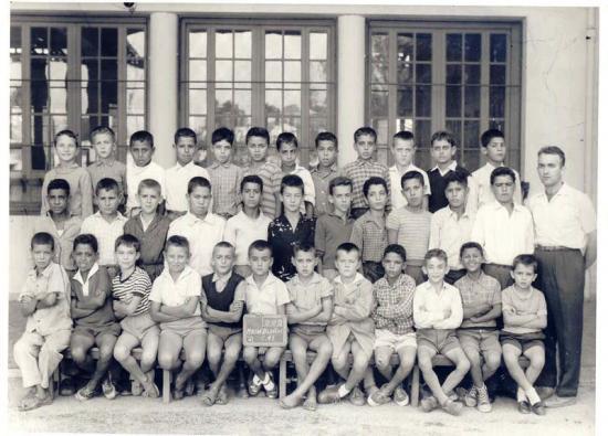 CM1 Garçons 1958