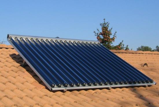 Chauffe eau solaire individuel for Capteur solaire sous vide