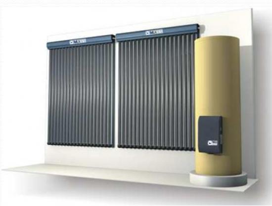 Fonctionnement d 39 un chauffe eau solaire individuel cesi for Chauffe eau solaire sous vide
