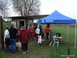 Concours d'obéissance Club canin du Sud de l'Aisne