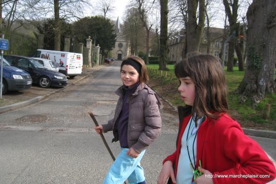 Ilona et Charlotte à Nointel