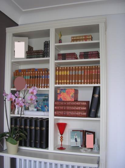 biblioth que au dessus d 39 un radiateur. Black Bedroom Furniture Sets. Home Design Ideas