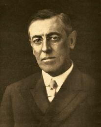 Président Woodrow Wilson