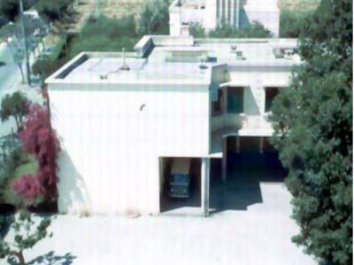 Ecole 1958 coté entrée
