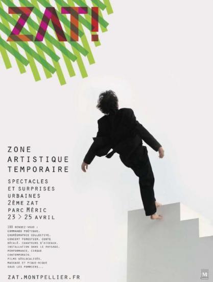 Zone artistique temporaire de Montpellier à Pâques