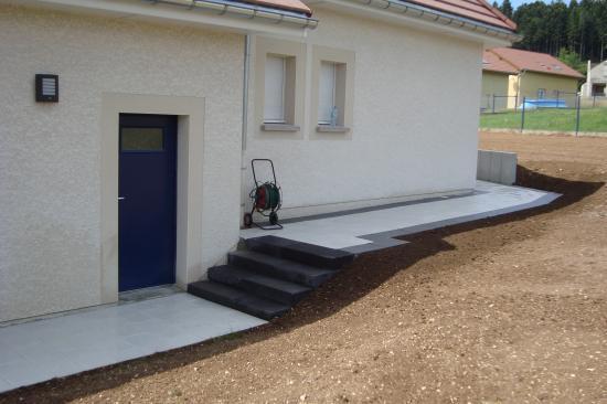 Aménagement terrasse