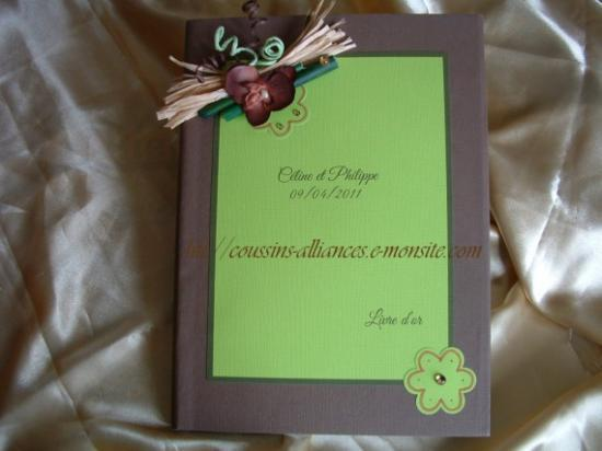 livre d'or theme bambou