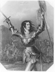 Jeanne d'Arc par P.A. Le Brun de Charmettes (L'Orléanide-1817)