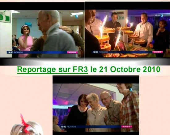 REPORTAGE SUR LE 19/20 D'FR3 en OCTOBRE 2010