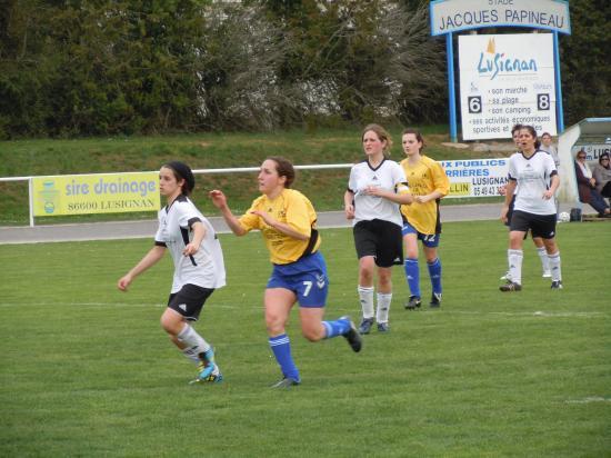 Equipe féminine 2010  2011