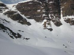 Avalanches neige mouillée