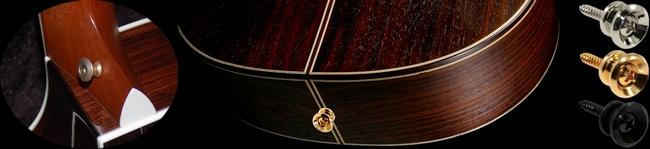 Attache-courroie/strap pour guitare Classique et Folk