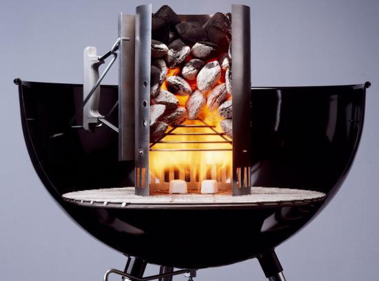 Pr paration du gril for Comment allumer un barbecue