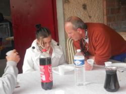 André et sa fille Morgane
