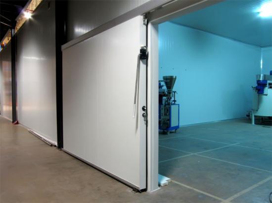 Porte de chambre froide négative, PORTE frigorifique