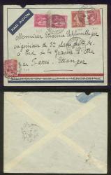 1938 Air cover Croiseur Jeanne d'Arc par Paris étranger