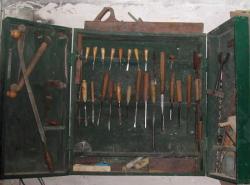 caisse à outils de sculpture