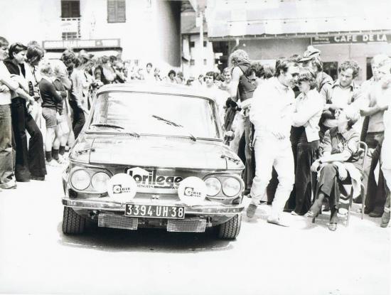 rallye du mont blanc 75 - Christian SALMON et Jacques Henuset