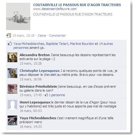 """extrait du blog """"j'aime agon-coutainville"""" facebook"""