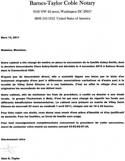 lettre notaire la lettre du notaire lettre notaire