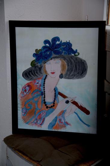 Nos mod le de peinture sur soie - Salon creation et savoir faire billet gratuit ...