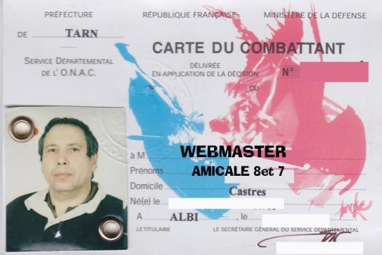 nouvelles conditions attribution carte du combattant TRN et CARTE du COMBATTANT
