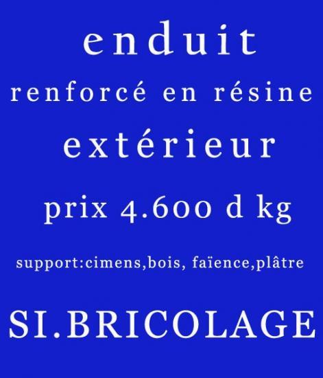 enduit renforc en r sine pour extrieure tunisie enduit pour exterieur enduit tn. Black Bedroom Furniture Sets. Home Design Ideas