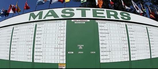 Masters ! ça vient de partir sur le tee numéro 1 !