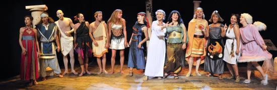 L'Olympe en folie de Catherine BOULANGER
