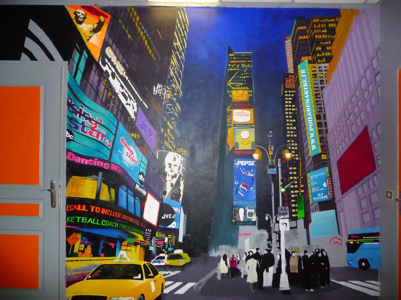 Peinture murale New York