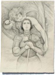 Maurice Gosselin : naquit en 1876 à Rouen, et décéda en 1931 à Mont-Saint-Aignan.  Il est le fils d'un avoué de Pont-Audmer, issu lui même de familles rouennaises.  Après des études faites à Rouen dans l'atelier de Zacharie, il entre  à Paris dans l'atelier de Bougueureau et Ferrier.