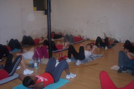 Cours de Renforcement musculaire (abdos)