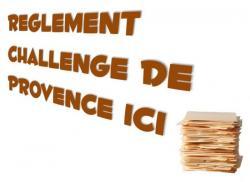 Règlement Challenge de Provence
