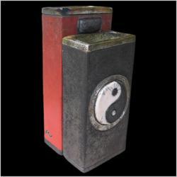 Vases duo yin et yang