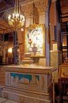 a l'interieure de la Cathedrale d'Athenes