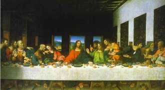 la derniere Cene du Christ