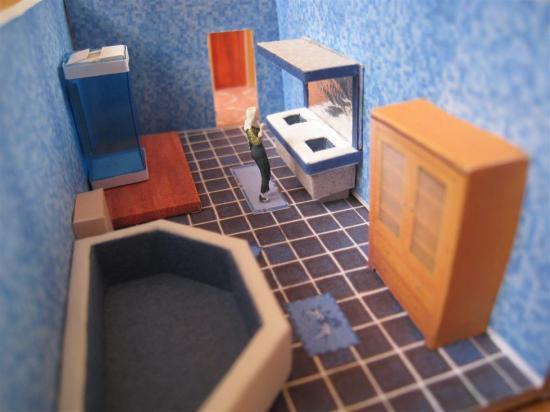 Häufig Masquette Salle De Bain – Idées d'images à la maison YO02