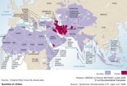 Répartition des chiites dans le monde